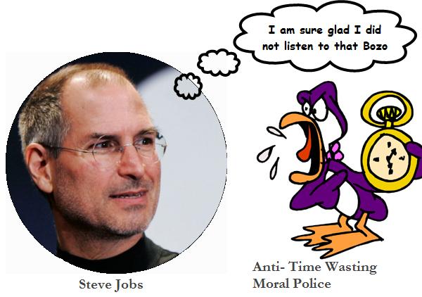 SteveJobs_TimeWasting